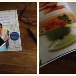 Carpaccio de Alcachofas y mis nuevos libros de receta.