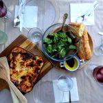 ¡Lasaña el plato familiar por excelencia!