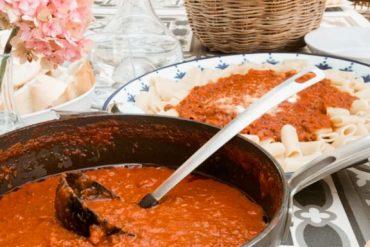 Salsa de ragú milanese